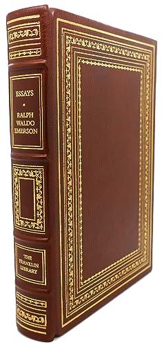 ESSAYS, Franklin Library: Ralph Waldo Emerson