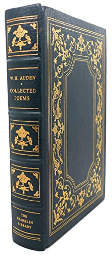 COLLECTED POEMS Franklin Library: W. H. Auden