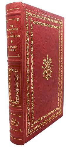 THE FLOWERING OF NEW ENGLAND 1815-1865 Franklin Library: Van Wyck Brooks