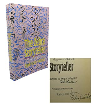 THE ZEBRA STORYTELLER Signed 1st: Spencer Holt