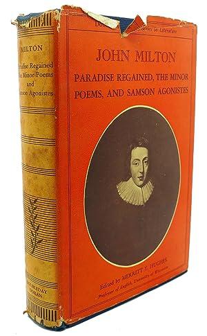 PARADISE REGAINED, THE MINOR POEMS, AND SAMSON: John Milton