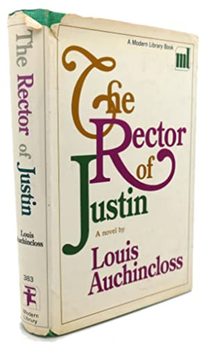 THE RECTOR OF JUSTIN: Louis Auchincloss