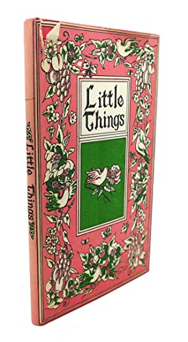 LITTLE THINGS: Louise Bachelder (editor)