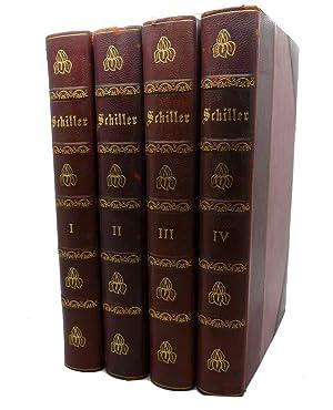 SCHILLERS WERTE, VOLS. 1 - 4: J. G. Fischer,