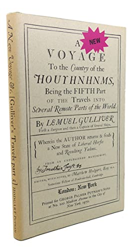 A NEW VOYAGE TO THE COUNTRY OF: Lemuel Gulliver