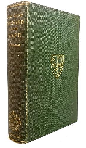 LADY ANNE BARNARD AT THE CAPE OF: Dorothea Fairbridge