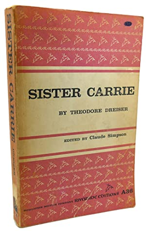 SISTER CARRIE Text in Japanese. a Japanese Import. Manga / Anime: Theodore Dreiser