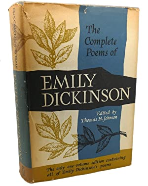 THE COMPLETE POEMS OF EMILY DICKINSON: Emily Dickinson, Thomas