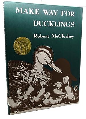 MAKE WAY FOR DUCKLINGS: Robert McCloskey