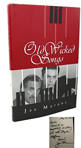 OLD WICKED SONGS Signed 1st: Jon Marans