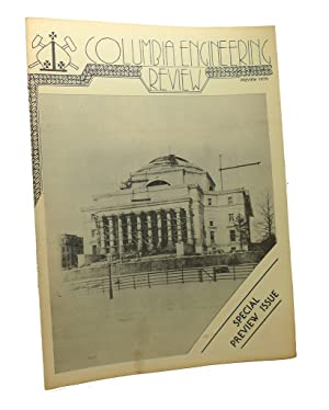 COLUMBIA ENGINEERING REVIEW, PREVIEW 1979