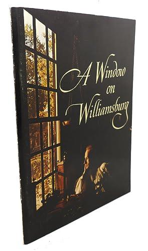 A WINDOW ON WILLIAMSBURG: John J. Walklet, Taylor Biggs Lewis Jr.