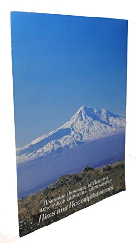 ARMENIAN ASSEMBLY OF AMERICA : Aims and Accomplishments: Armenian Assembly Of America