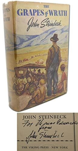 THE GRAPES OF WRATH Signed 1st: John Steinbeck