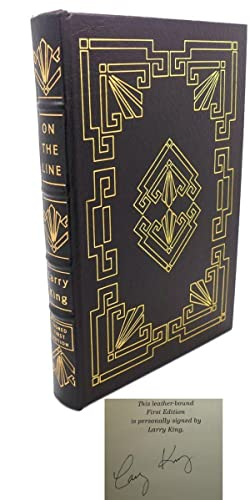 ON THE LINE : Signed Easton Press: Larry King