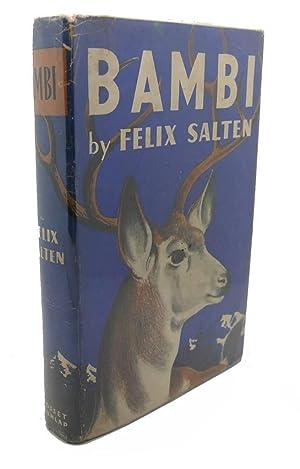 1929 bambi book by felix salten