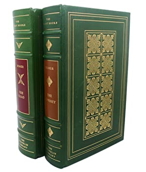 THE ILIAD, THE ODYSSEY Franklin Library Great: Homer