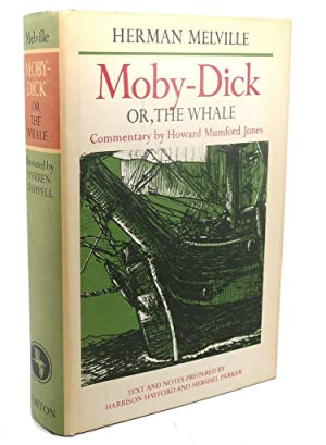 MOBY - DICK OR, THE WHALE: Herman Melville