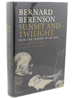 SUNSET AND TWILIGHT: Bernard Berenson
