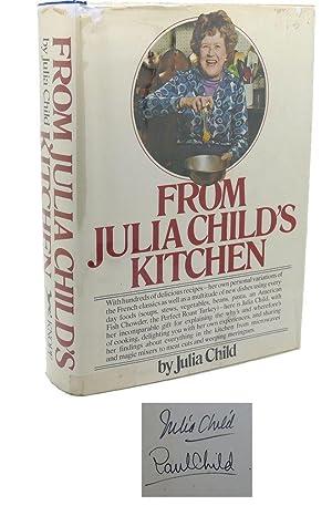 FROM JULIA CHILD'S KITCHEN Signed 1st: Julia Child
