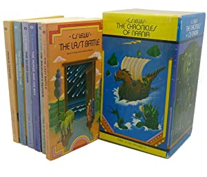 THE CHRONICLES OF NARNIA : 6 Volumes: C. S. Lewis