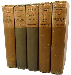THE NOVELS AND LETTERS OF JANE AUSTEN: Jane Austen