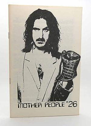 MOTHER PEOPLE #26 Frank Zappa Fanzine: Frank Zappa