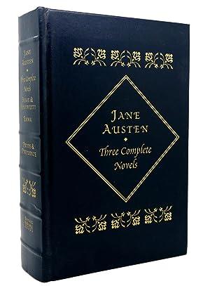 THREE COMPLETE NOVELS Sense and Sensibility; Emma;: Jane Austen