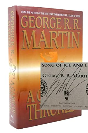 A GAME OF THRONES SIGNED 1st: George R. R.