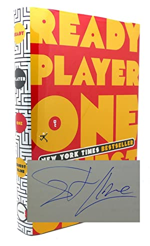 READY PLAYER ONE Signed 1st Edition: Ernest Cline