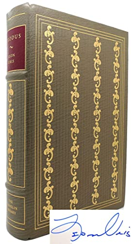 EXODUS Signed Limited Edition Franklin Library: Leon Uris