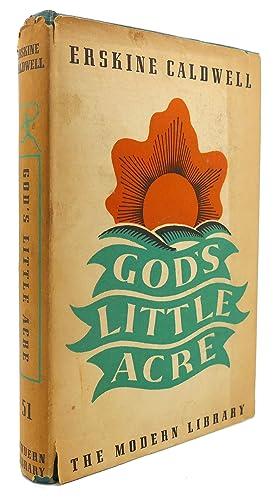 GOD'S LITTLE ACRE Modern Library #51: Erskine Caldwell