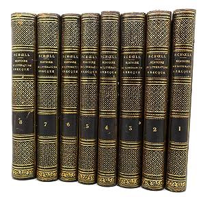 HISTOIRE DE LA LITTERATURE GRECQUE PROFANE VOL.: M. Schoell