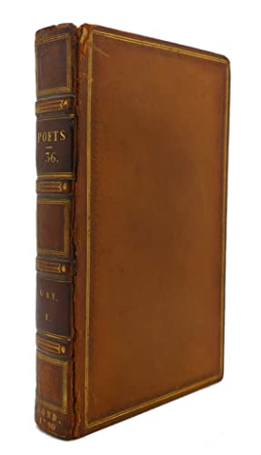 THE WORKS OF THE ENGLISH POETS VOL. 36 With Prefaces, Biographical and Critical