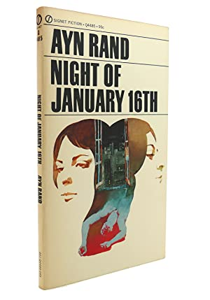 Theater Player Book Night of January 16th Comedy Drama Three Act Ayn Rand 1964