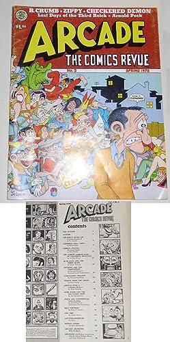 ARCADE : THE COMICS REVUE Vol 1: Crumb R.