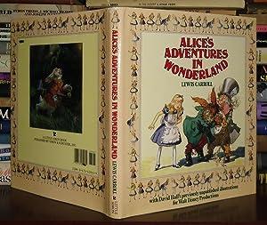 ALICE'S ADVENTURE IN WONDERLAND: Carroll, Lewis; Hall, David, Illustrator