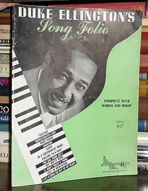 DUKE ELLINGTON'S SONG FOLIO Duke Ellington Sheet Music: Ellington, Duke
