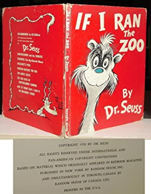 IF I RAN THE ZOO: Seuss, Dr. -