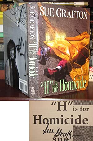 H IS FOR HOMICIDE Signed 1st: Sue Grafton