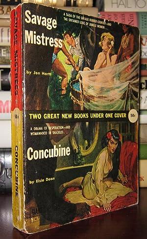 SAVAGE MISTRESS & CONCUBINE: Hartt, Jon; Elsie Dean