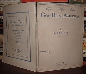 GOD BLESS AMERICA [ Sheet Music ]: Berlin, Irving; Routelle, Charles (Arranger)