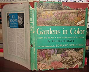 GARDENS IN COLOR : The Picture Garden Book and Gardener's Assistant, with Color: Pratt, ...