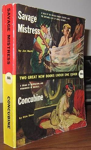 SAVAGE MISTRESS & CONCUBINE: Hartt, Jon & Dean, Elsie