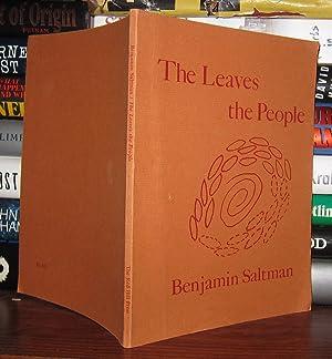 THE LEAVES THE PEOPLE: Saltman, Benjamin