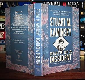 DEATH OF A DISSIDENT: Kaminsky, Stuart M.