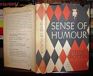 SENSE OF HUMOUR: Potter, Stephen