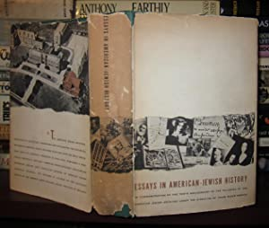 ESSAYS IN AMERICAN - JEWISH HISTORY To Commemorate the Tenth Anniversary of the Founding of the ...