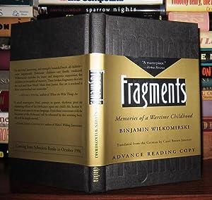 FRAGMENTS Memories of a Wartime Childhood: Wilkomirski, Binjamin; Juneway,