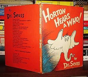 HORTON HEARS A WHO!: Seuss, Dr. -